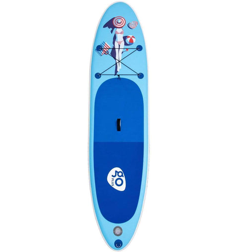 DealsDot.Com Sporting Goods 10' Inflatable Stand Up Paddle Board w- Fin