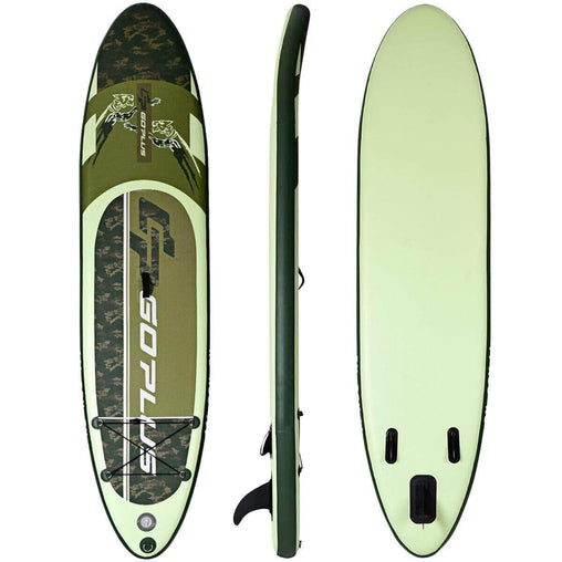 DealsDot.Com Sporting Goods 11' Inflatable Standing Board Surfboard  with Bag and Paddle