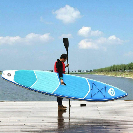 DealsDot.Com Sporting Goods 12.5' Inflatable Stand Up Paddle Board w- Paddle