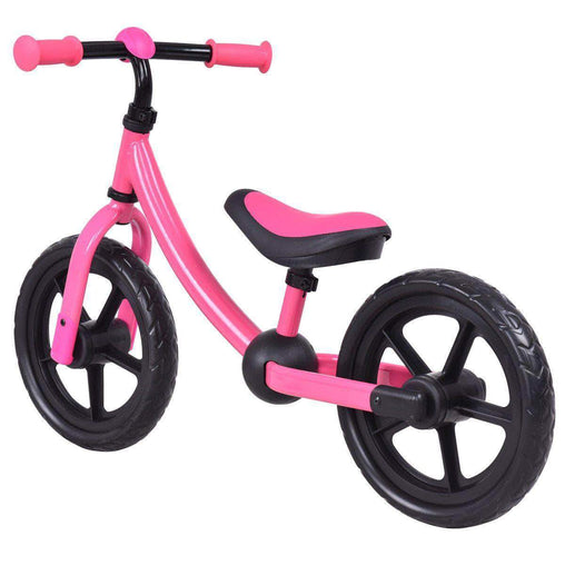 "DealsDot.Com Sporting Goods 12"" Classic Kids No-Pedal Learn Bike w- Adjustable Seat"