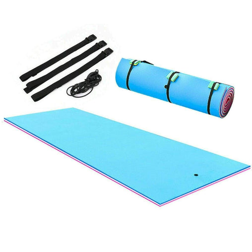 DealsDot.Com Sporting Goods 3 Layer Island Water Sports water Mat Floating Pad