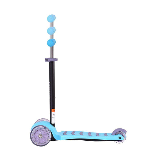 DealsDot.Com Sporting Goods 3 LED Light up PU Wheels Kids Kick Scooter with Adjustable Handle