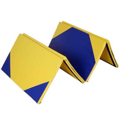 "DealsDot.Com Sporting Goods 4' x 10' x 2"" Hexagonal Splicing Thick Folding Panel Gymnastics Mat"