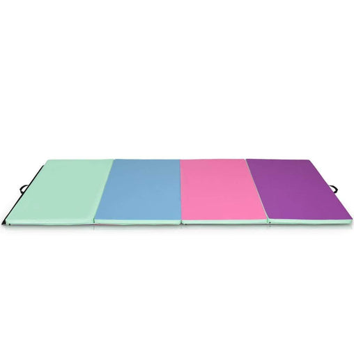 "DealsDot.Com Sporting Goods 4' x 10' x 2"" Portable Gymnastics Mat Folding Exercise Mat"