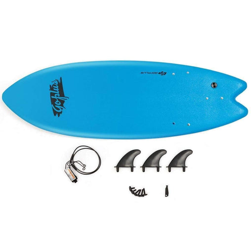 "DealsDot.Com Sporting Goods 5'5"" Ocean Foamie SurfBoard  with Rope and 3 Fins"