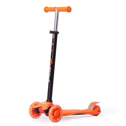 DealsDot.Com Sporting Goods Aluminum Adjustable Height Kids Kick Scooter with 3 LED Light Wheels