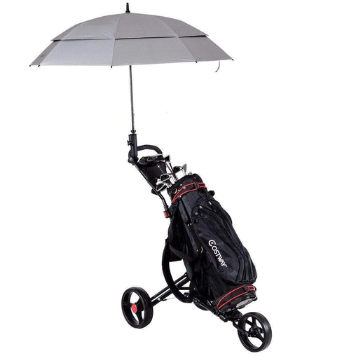 DealsDot.Com Sporting Goods Lightweight Foldable Golf Cart with Adjustable Push Handle