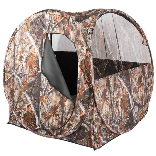 DealsDot.Com Sporting Goods Portable Waterproof Hunting Tent w- Mesh Windows