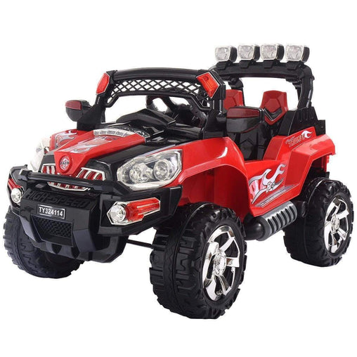 DealsDot.Com Toys & Games 12V Kids Ride On Truck Car SUV RC Remote Control w-LED Lights