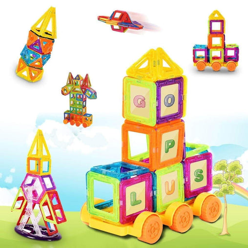 DealsDot.Com Toys & Games 158 pcs Magical Magnetic Construction Building Blocks