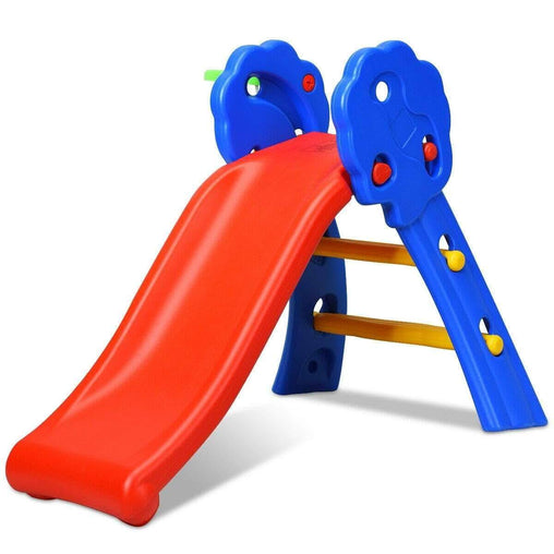 DealsDot.Com Toys & Games 2 Step Children Folding Slide with Basketball Hoop