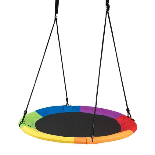 "DealsDot.Com Toys & Games 40"" Flying Saucer Tree Swing Outdoor Play for Kids"
