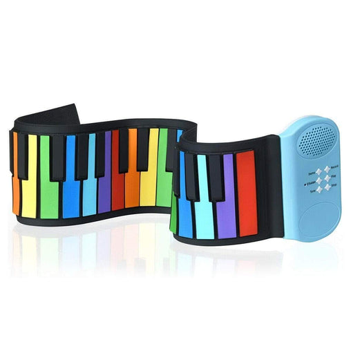 DealsDot.Com Toys & Games 49-key Roll-up Piano with Support Earphone