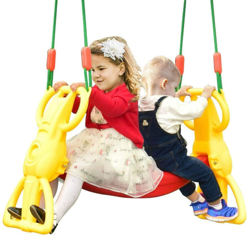 DealsDot.Com Toys & Games Back to Back Rider Glider Swing for 2 Kids with Hangers