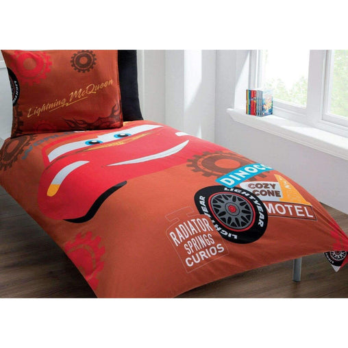 Disney Bedding & Bath Disney/Pixar Cars Lightning McQueen 3 Piece Twin Sheet Set - 100% Cotton