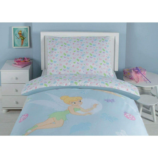 Disney Bedding & Bath Disney Tinkerbell  3 Piece Twin Sheet Set - 100% Cotton