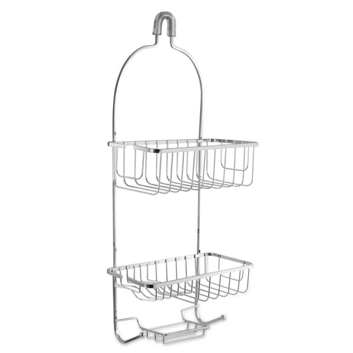 Elama Health and Beauty Elama Two Tier Shower Caddy in Chrome