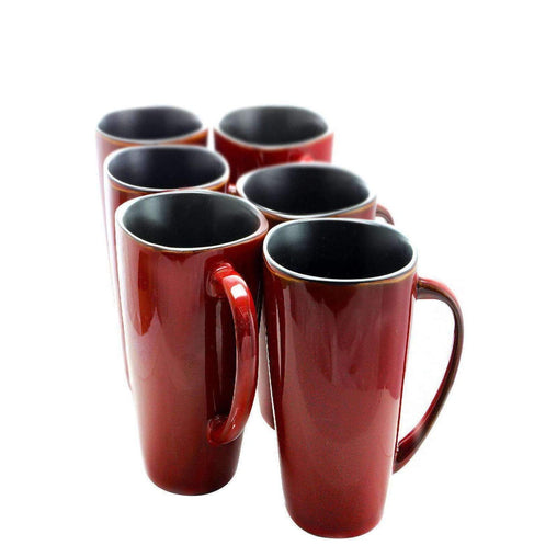 Elama Home and Garden Elama Harland 6 Piece Luxe and Large Dinner Mugs