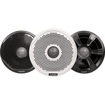 "Fusion MS-FR7022 7"" Speakers w/ 3 Grilles"