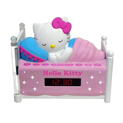 HelloKitty Hello Kitty Hello Kitty Sleeping Kitty Alarm Clock Radio with Night Light
