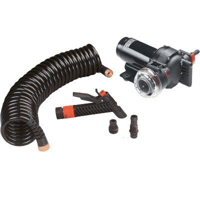 JOHNSON PUMPS AquaJet Washdown Kit 3.5GPM 12V w/o Sw.
