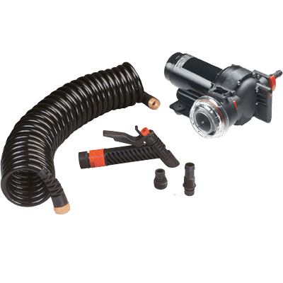 JOHNSON PUMPS AquaJet Washdown Kit 5.2GPM 12V w/o Sw.