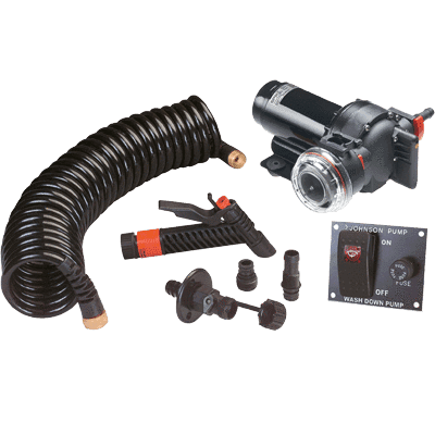 JOHNSON PUMPS AquaJet Washdown Kit 5.2GPM 12V w/Switch