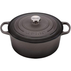 Le Cruset Kitchen 6QT Round Cast Iron Dutch Oven Induction Ready