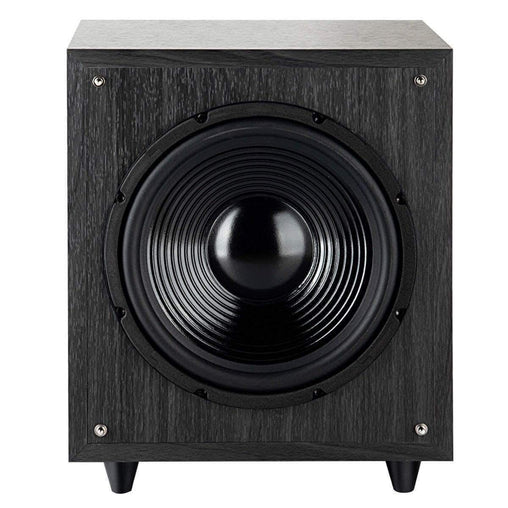 "LivingTrend Electronics 10"" 400W Powered Active Subwoofer with Front-Firing Woofer"