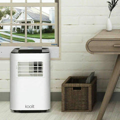 LivingTrend Heating & Cooling Portable Air Conditioner  w Remote Control