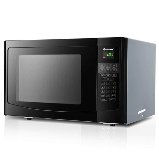 LivingTrend Home & Garden 1.1 cu ft Programmable Microwave Oven 1000W LED Display
