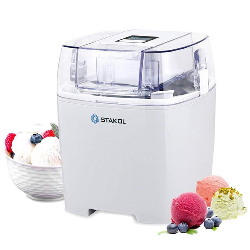 LivingTrend Home & Garden 1.6 Quart Automatic Ice Cream Maker Freezer Dessert Machine