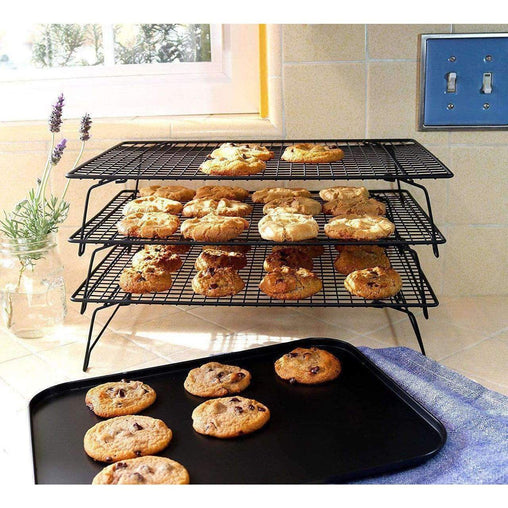 LivingTrend Kitchen 3 Tier Baking Cooling Rack