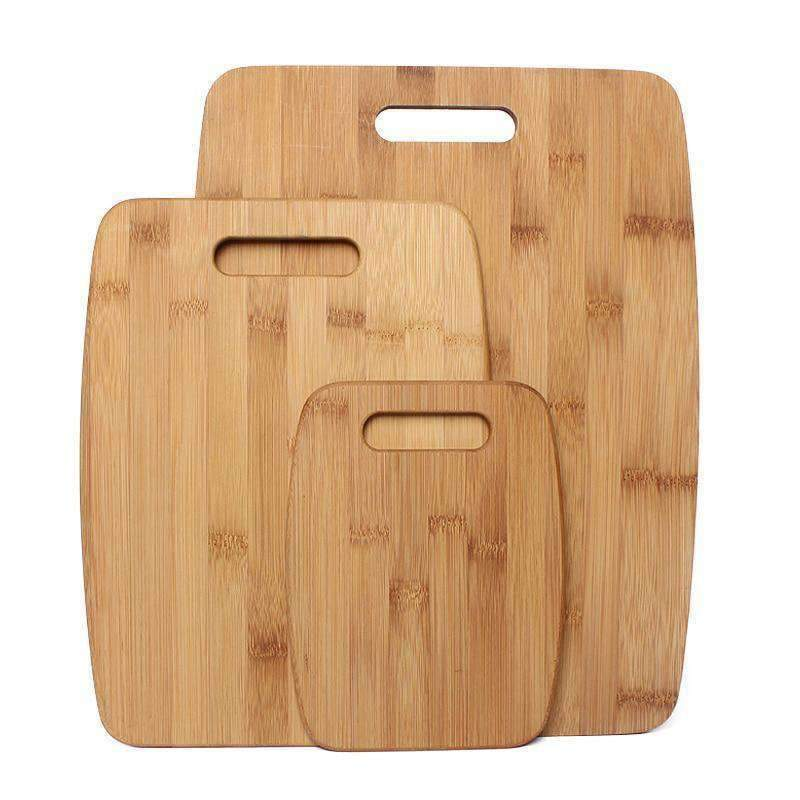 LivingTrend Kitchen 3pc  Bamboo Cutting Board Set