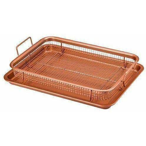 LivingTrend Kitchen Copper Chef Crisper Tray