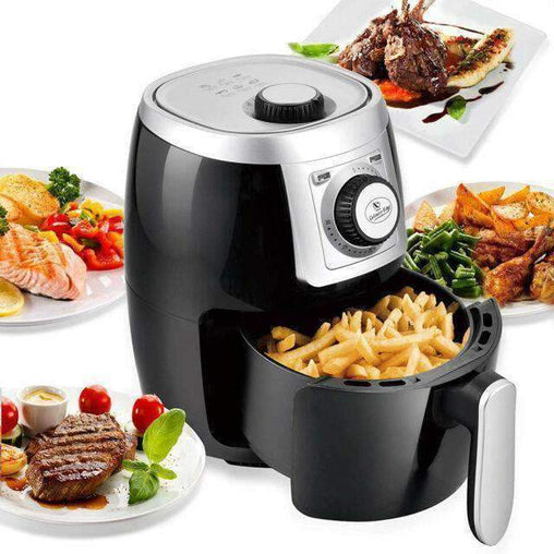 LivingTrend Kitchen Electric Air Fryer and Oven Cooker - Black