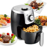 Electric Air Fryer and Oven Cooker - Black