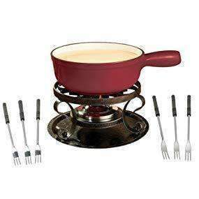 LivingTrend Kitchen Electric Fondue Set, 8 Person
