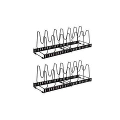 LivingTrend Kitchen Expandable and Adjustable Kitchen Storage Rack