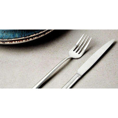 LivingTrend Kitchen Four-piece Cutlery Set, Brushed Steel