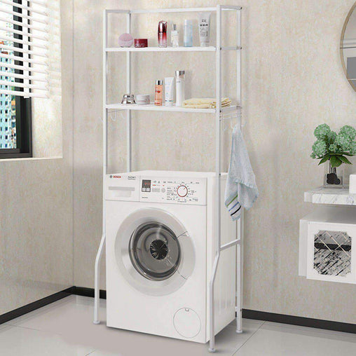 LivingTrend Storage & Organization 2 Tier Storage Rack for Bathroom