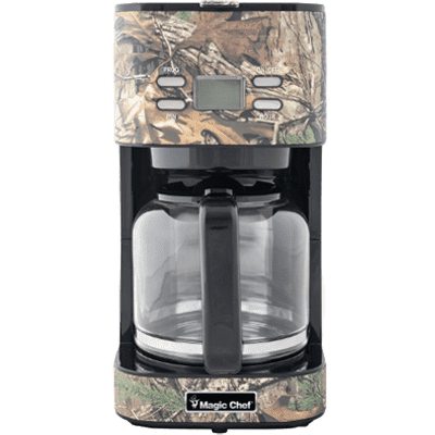 MagicChef Kitchen Appliances Coffee Maker, 12 Cup, Camo