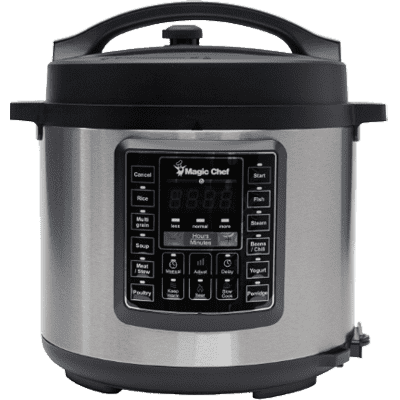 MagicChef Kitchen Appliances Electric Multi Cooker, 6 Qt.