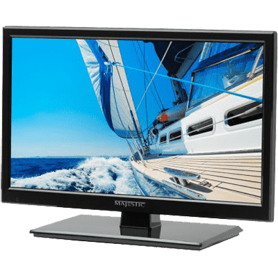 "Majestic TV, 19"" 12V LED, with DVD, USB, 1x HDMI"