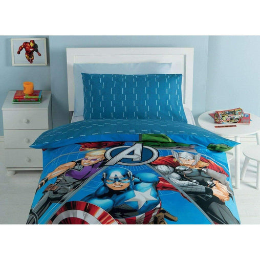 Marvel Bedding & Bath Marvel Avengers Publish 3 Piece Twin Sheet Set - 100% Cotton