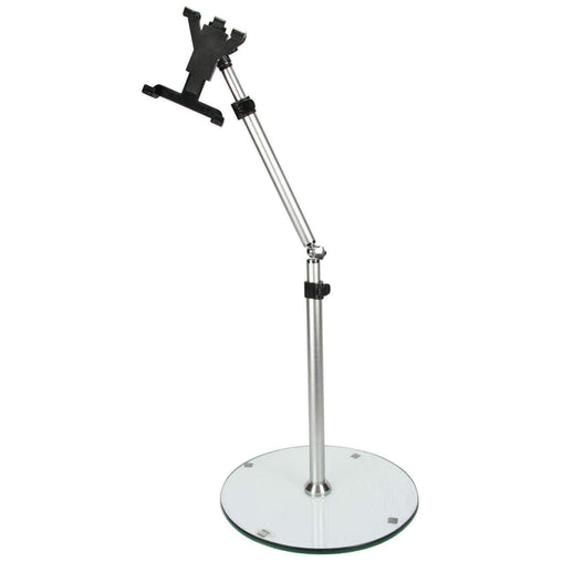 "Megamounts Office and Home MegaMounts Height-Angle Adjustable Tablet Floor Stand for for 7""-12"" Tablet"