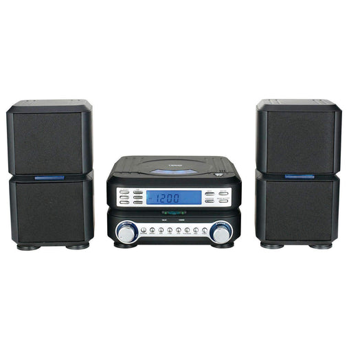 Naxa Home Stereo Systems Naxa Digital CD Micro System with AM-FM Stereo Radio