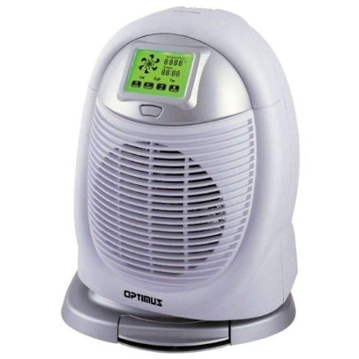 Optimus Heaters and Fans Optimus Digital Oscillating Fan Heater with touch Screen