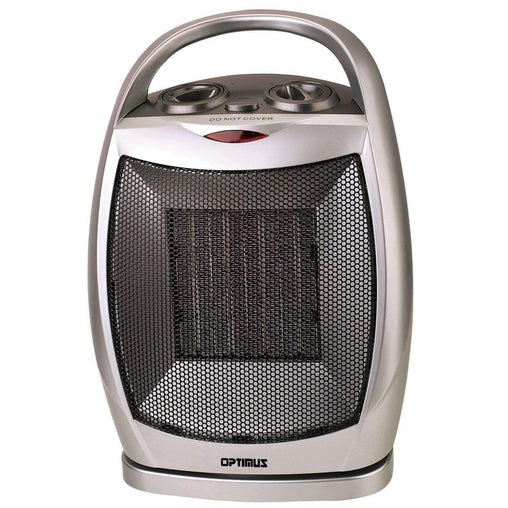 Optimus Heaters and Fans Optimus Portable Oscillating Ceramic Heater with Thermostat - Reconditioned