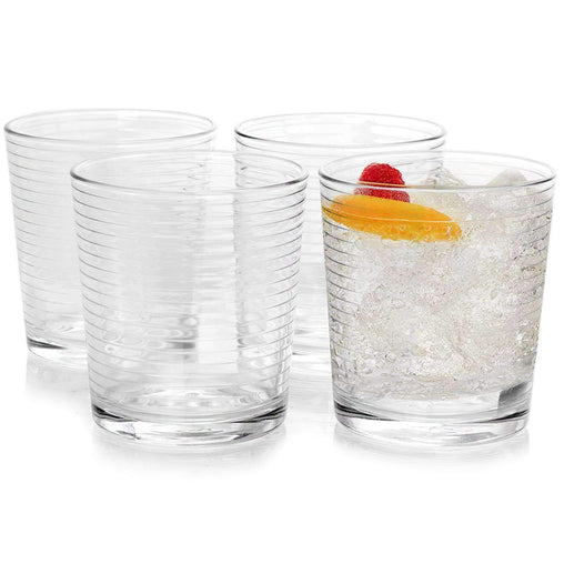 Pasabahce Tableware Pasabahce Doro 7 oz Juice Glass Set in Clear, Set of 4